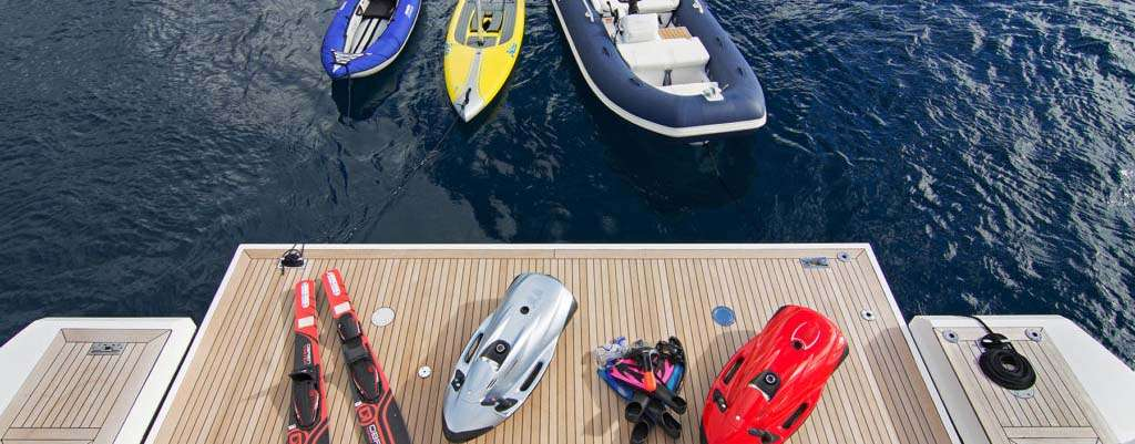 Best Water Toys For Luxury Charter
