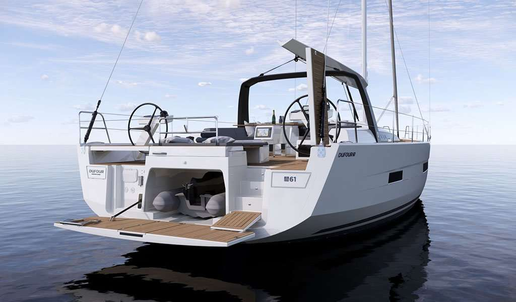 NEW From Dufour Yacht – Dufour 61